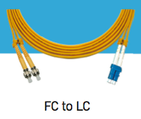 LINK, UF-6822D, FC-LC Single Mode, 9/125 um., Duplex Patch Cord, 2 M.