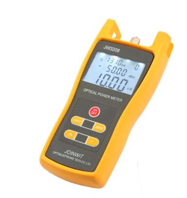 Handheld Optical Power Meter Tool Laser Fiber Optic Tester -50~ +26 dBm. JW-3208C (0)