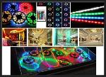 LED Light Strip 5050 , RGB , 5M, 150 LED +24 key IR Remote System