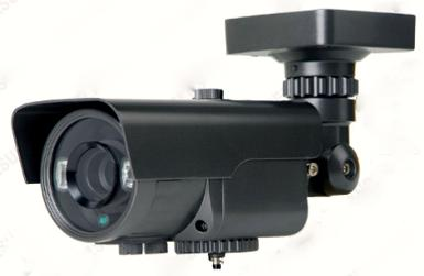 "1/3"" SONY Effio-E, 700TVL LED Array 2 Pcs, 4-9 mm Varifocal Lens. IR Distance 35-40m."
