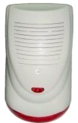 Outdoor Siren With Strobe, LM-104