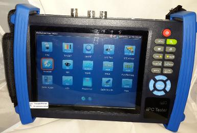 7 Inch Touch Screen IP and HD Analog ( AHD, CVI, TVI,SDI ) CCTV Tester, 6 In 1