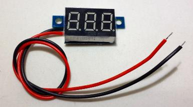 DC 0.36Inch LED Digital Display Voltmeter Panel (42)