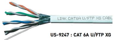 CAT6A U/FTP XG ( 500 Mhz ) Cable, CMR