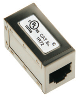 Shield CAT6A In-Line Coupler