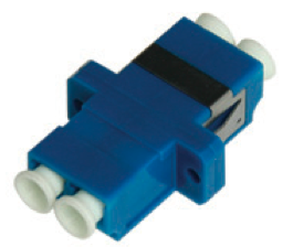 LINK, UF-0022DSM, LC DUPLEX ADAPTER, Single Mode, Ceramic Sleeve
