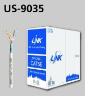 US-9035, CAT5E F/UTP Enhance Cable (350Mhz), CMR