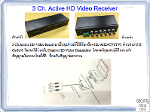 3Ch Active HD Video Receiver
