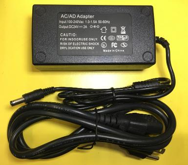 Power Adaptor 24V, 2A