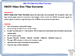 HD-CVI Video Convertor, 1CH,720P,  Single Mode,  FC Port (2)