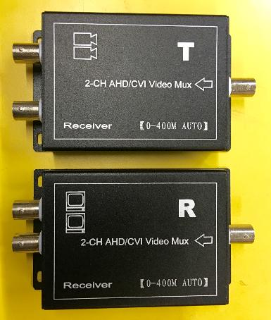2 Ch HD Video Multiplexer for AHD,CVI 720P /960P